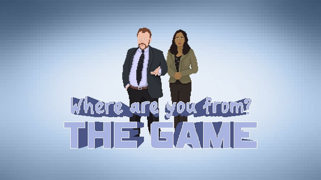 Where Are You From? The Game